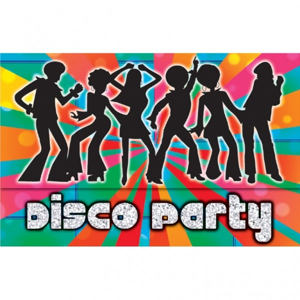 Disco Invites is awesome invitations layout